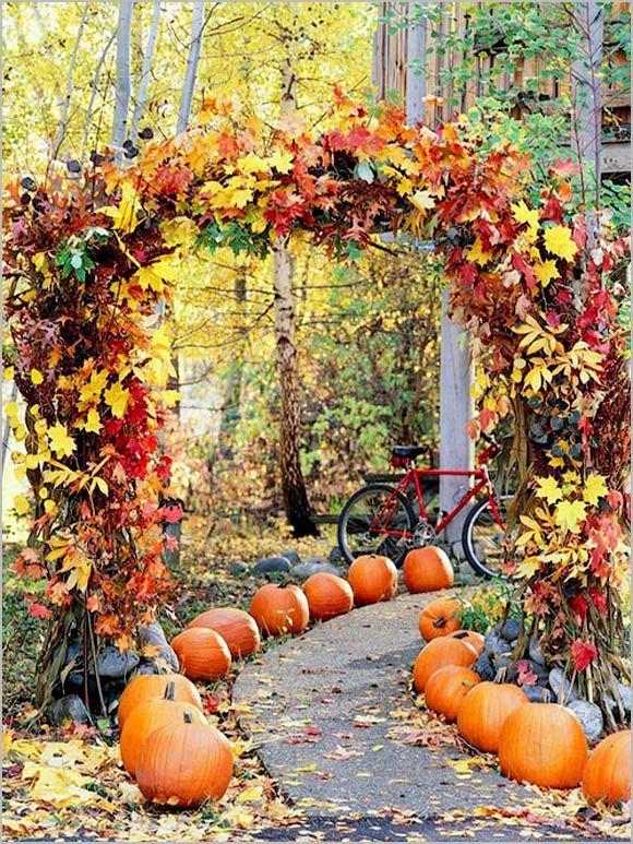 Autumn Wedding Decoration Ideas