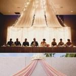 36 Romantic Drapery Wedding Decorations Ideas Deer Pearl Flowers