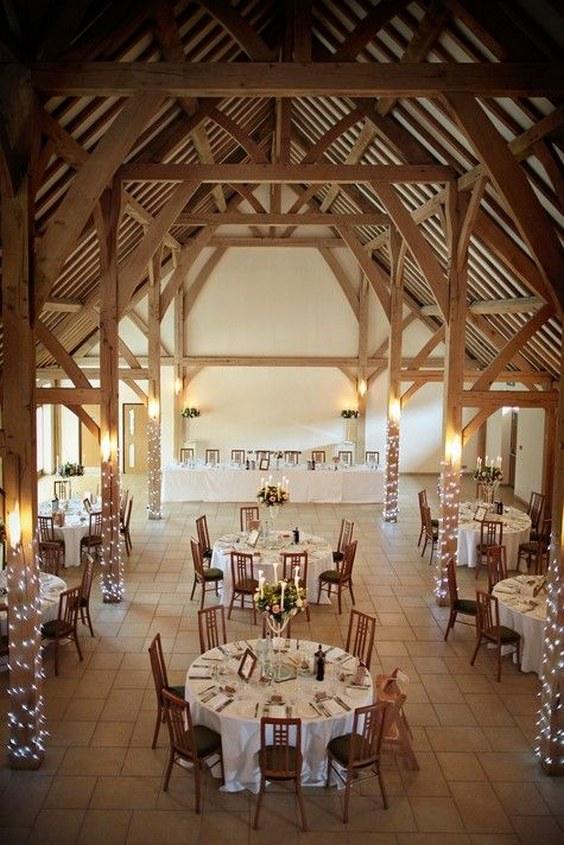 30 Barn Wedding Reception Table Decoration Ideas Deer