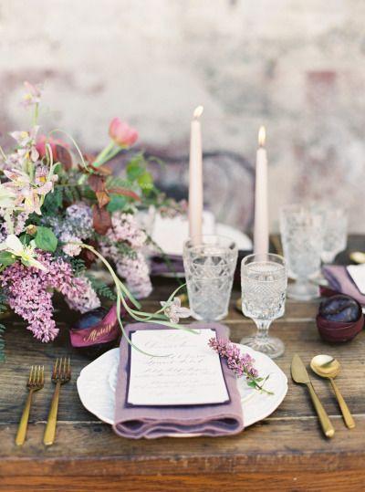 45 Plum Purple Wedding Color Ideas Deer Pearl Flowers Part 2