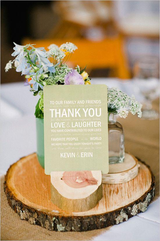 Fall Wedding Thank You Cards