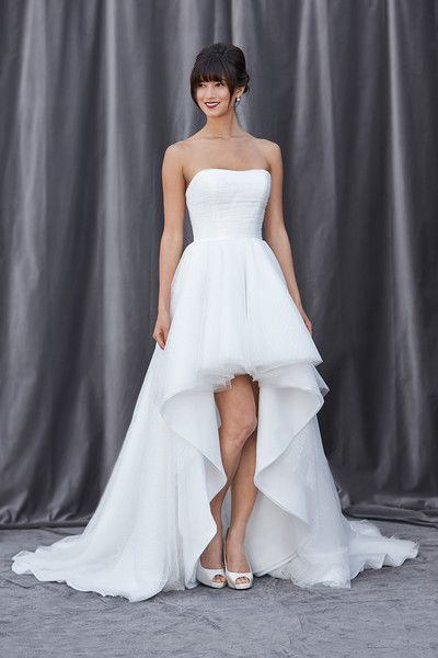 Top 25 High Low Wedding Dresses Deer Pearl Flowers