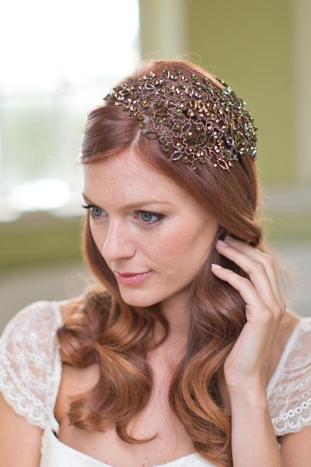 30 Amazing Wedding Hairstyles With Headpiece Deer Pearl