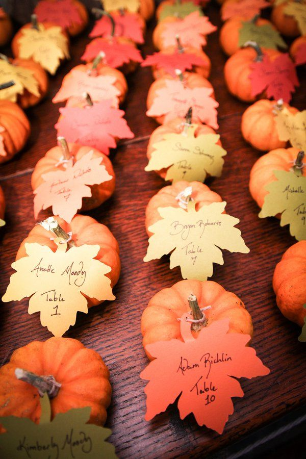 Fall Wedding Theme Colors