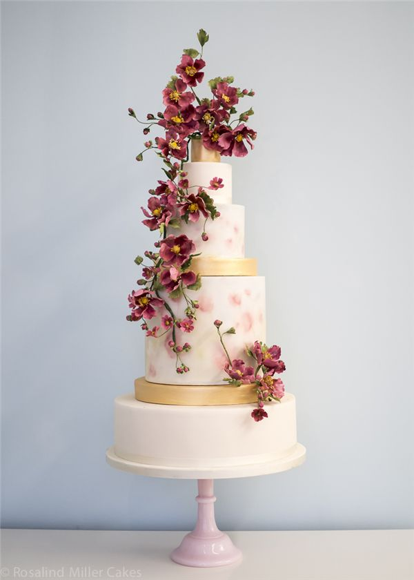 22 Sophisticated Tiered Wedding Cakes You Will Love Deer