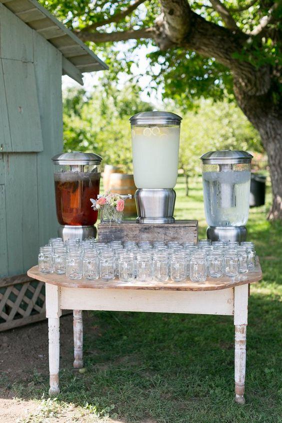 Top 25 Rustic Barbecue BBQ Wedding Ideas Deer Pearl Flowers