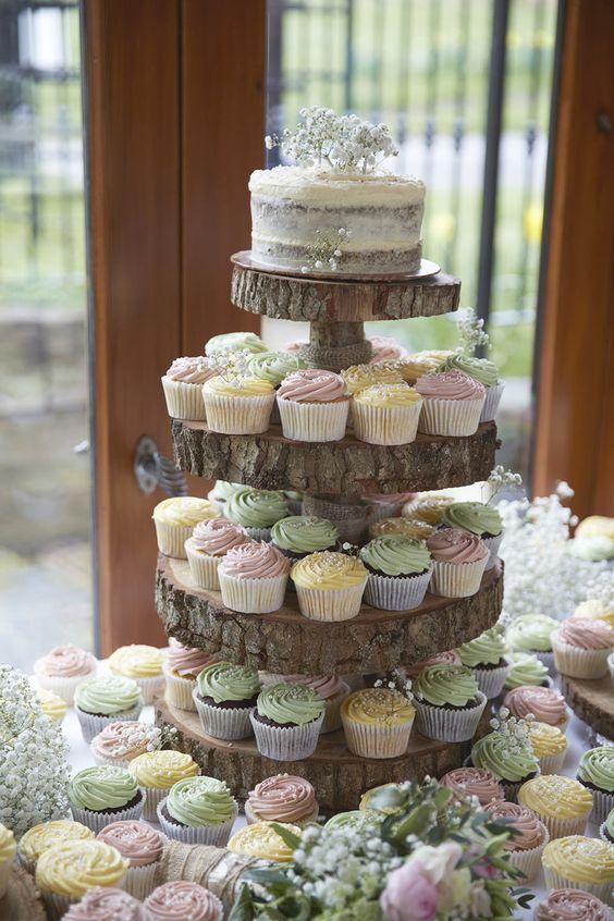 25 Amazing Rustic Wedding Cupcakes Amp Stands Deer Pearl