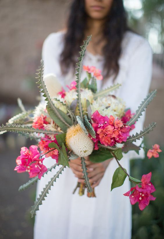 Fall Wedding Flower Bouquets