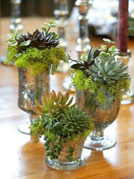 45 Rustic Moss Decor Ideas For A Nature Wedding Deer Pearl Flowers