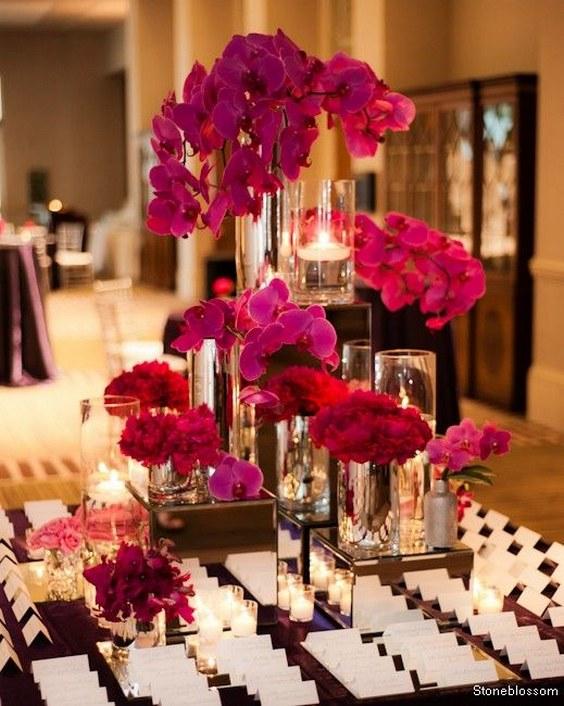 Flower Bridal Shower Invitations