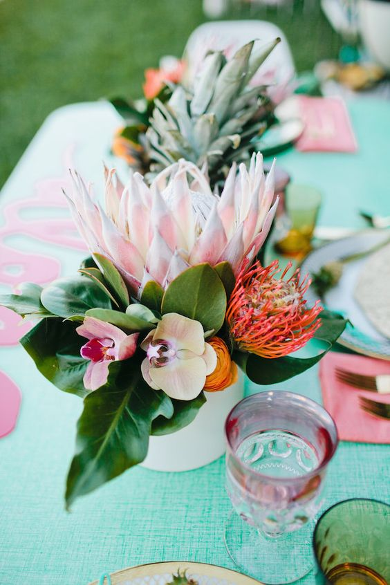 30 Chic Aloha Tropical Bridal Shower Ideas Deer Pearl