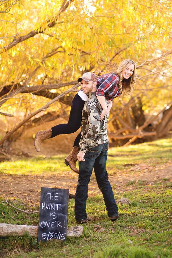 60 Best Ideas of Fall Engagement Photo Shoot | Deer Pearl