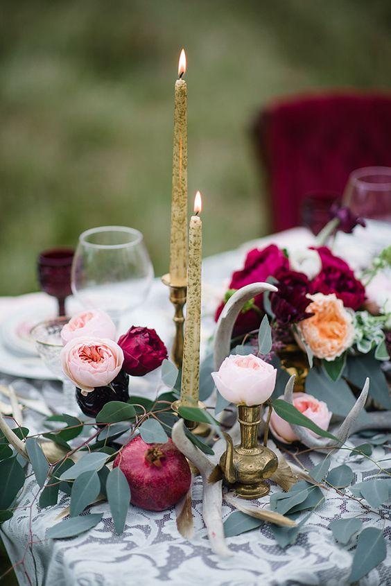 30 Burgundy And Blush Fall Wedding Ideas Deer Pearl