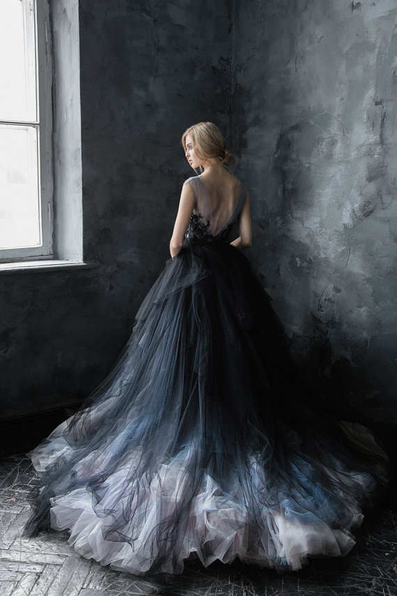 15 Non White Wedding Dresses On Etsy That Im Obsessed