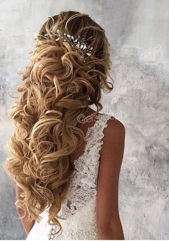 65 Long Bridesmaid Hair Amp Bridal Hairstyles For Wedding