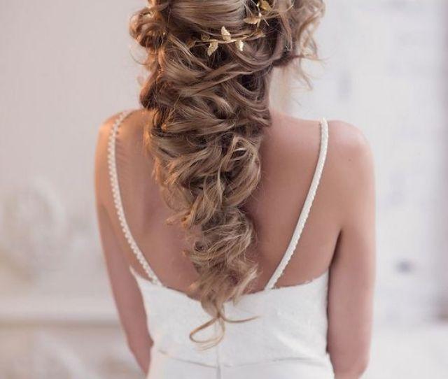 Long Wedding Hairstyles Bridal Updos Via Elstile