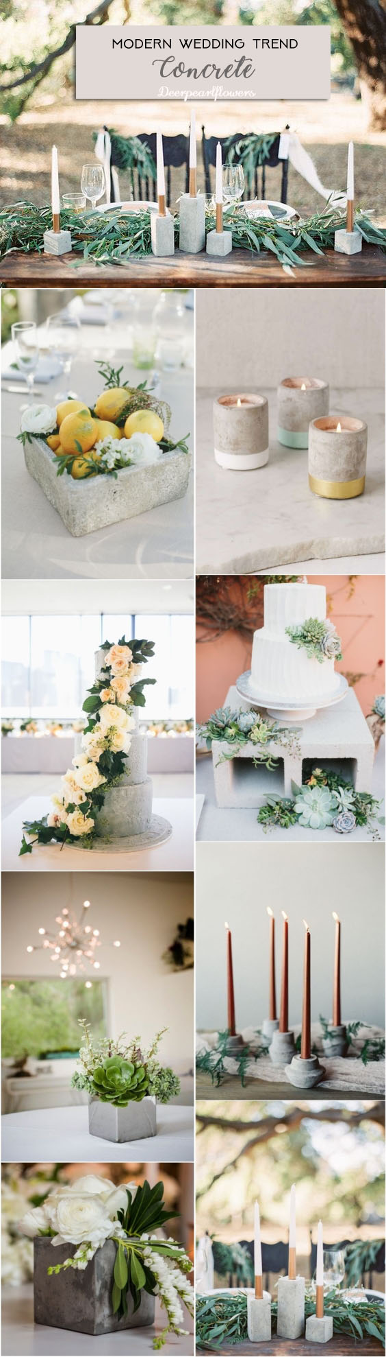 Top 8 Modern Wedding Theme Ideas for 2019 | Deer Pearl Flowers