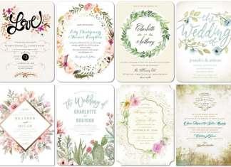 Top 8 Themed Shutterfly Wedding Invitations Deer Pearl Flowers