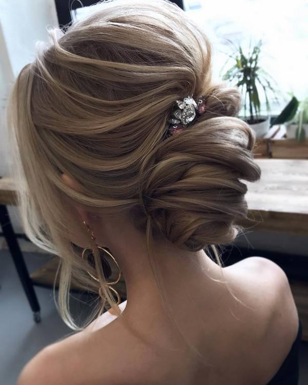 Top 20 Long Wedding Hairstyles And Updos For 2018 Deer