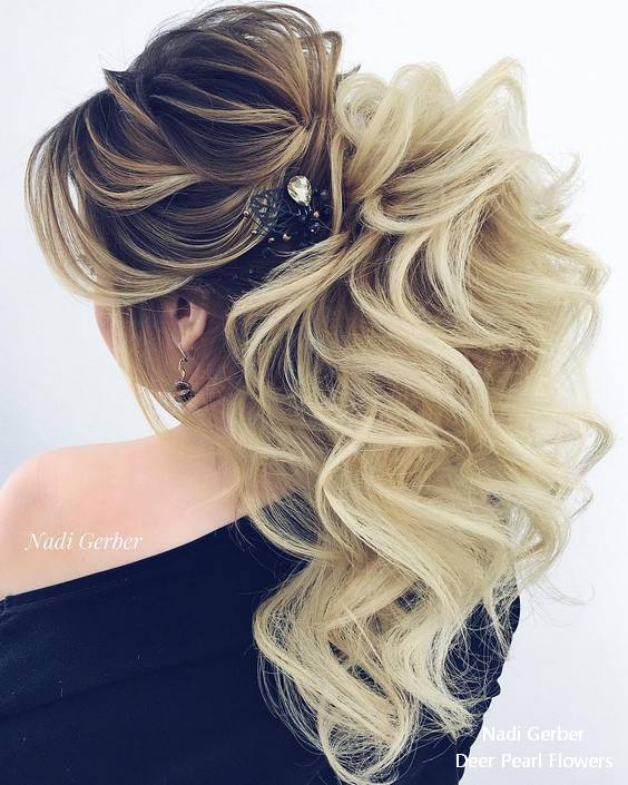 20 Best Long Wedding Amp Prom Hairstyles From Nadi Gerber
