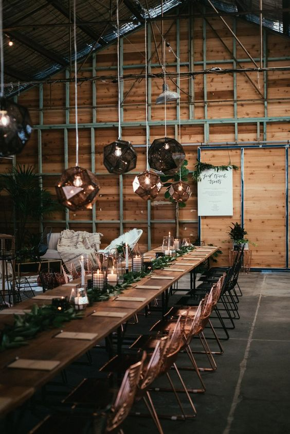 20 Industrial Wedding Reception Decor Ideas For 2019 Deer Pearl Flowers