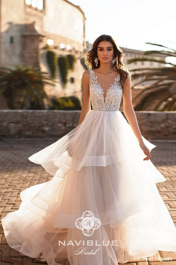 Naviblue 2019 Wedding Dresses Dolly Collection Deer