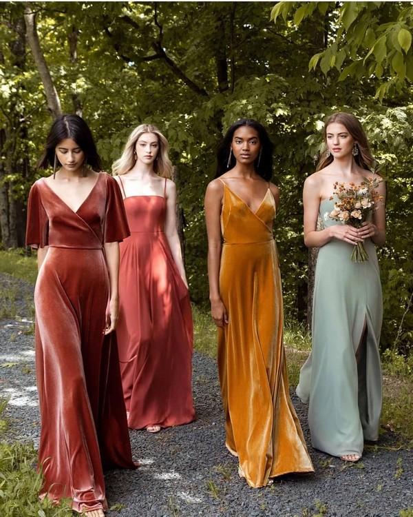 Jenny yoo fall bridesmaid dresses