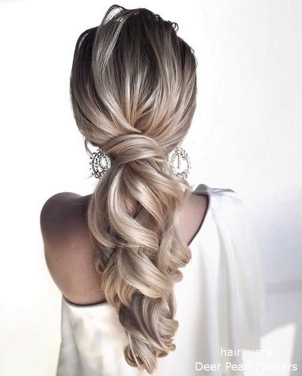 Long Wedding Hairstyles and Updating for Bride from hair_vera