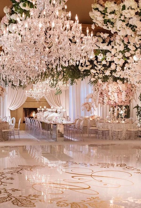 luxury vintage wedding reception ideas