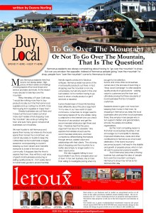 Shop Local Article_Whale Talk May 2014