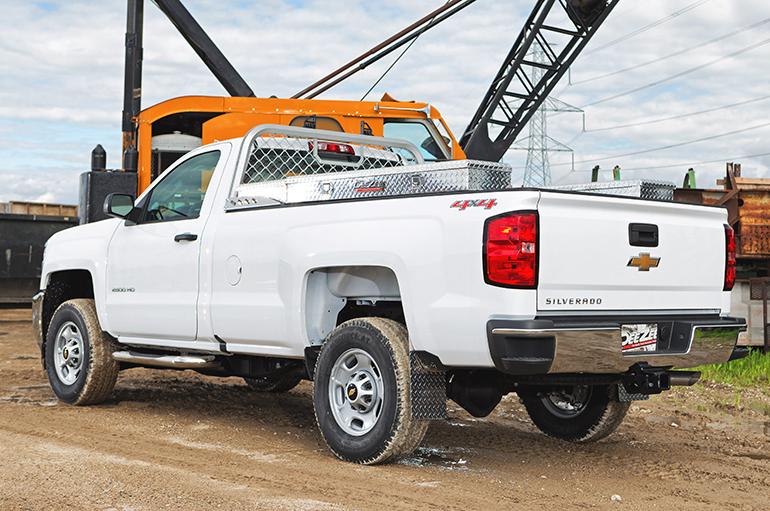aluminum front truck racks dee zee