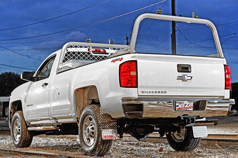aluminum rear truck racks dee zee