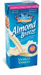 Almond Breeze Almond Milkhttp://www.almondbreeze.ca/