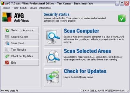 AVG Antivirus Free Edition