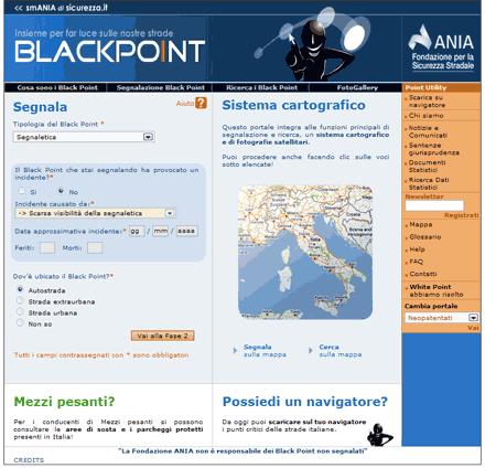 Blackpoint, aiutiamoci sulla strada.