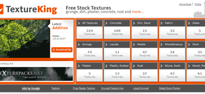 Texture gratis da TextureKing