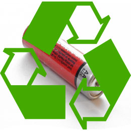 riciclo batterie ricaricabili