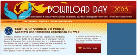 mozilla firefox 3 download day