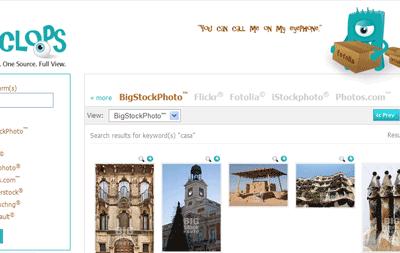 Cercare foto e immagini con Cyclo.ps