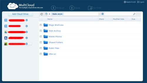 MultCloud-account-settings