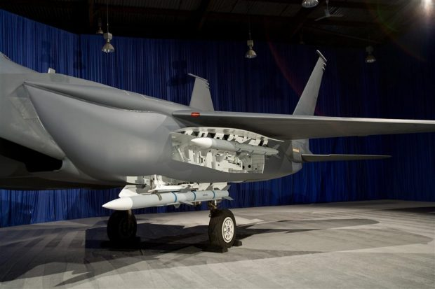 F-15 Silent Eagle's internal weapons carriage