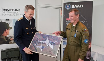 10,000 flight hours with Czech Gripen