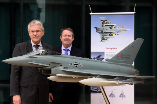 UK Government underlines strong support for the Eurofighter Typhoon Campaign in India