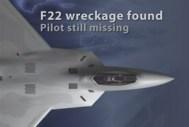 Missing F-22 pilot identified
