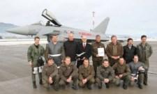 Eurofighter Typhoon attains the 100,000 flying hours milestone