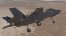 Final F-35A Development Jet Arrives at Edwards Airforce Base