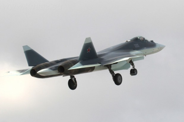 t-50_takes-off_Su-PAKFA