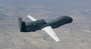 Decrease in cost per flight hour by Northrop Grumman RQ-4 Global Hawk