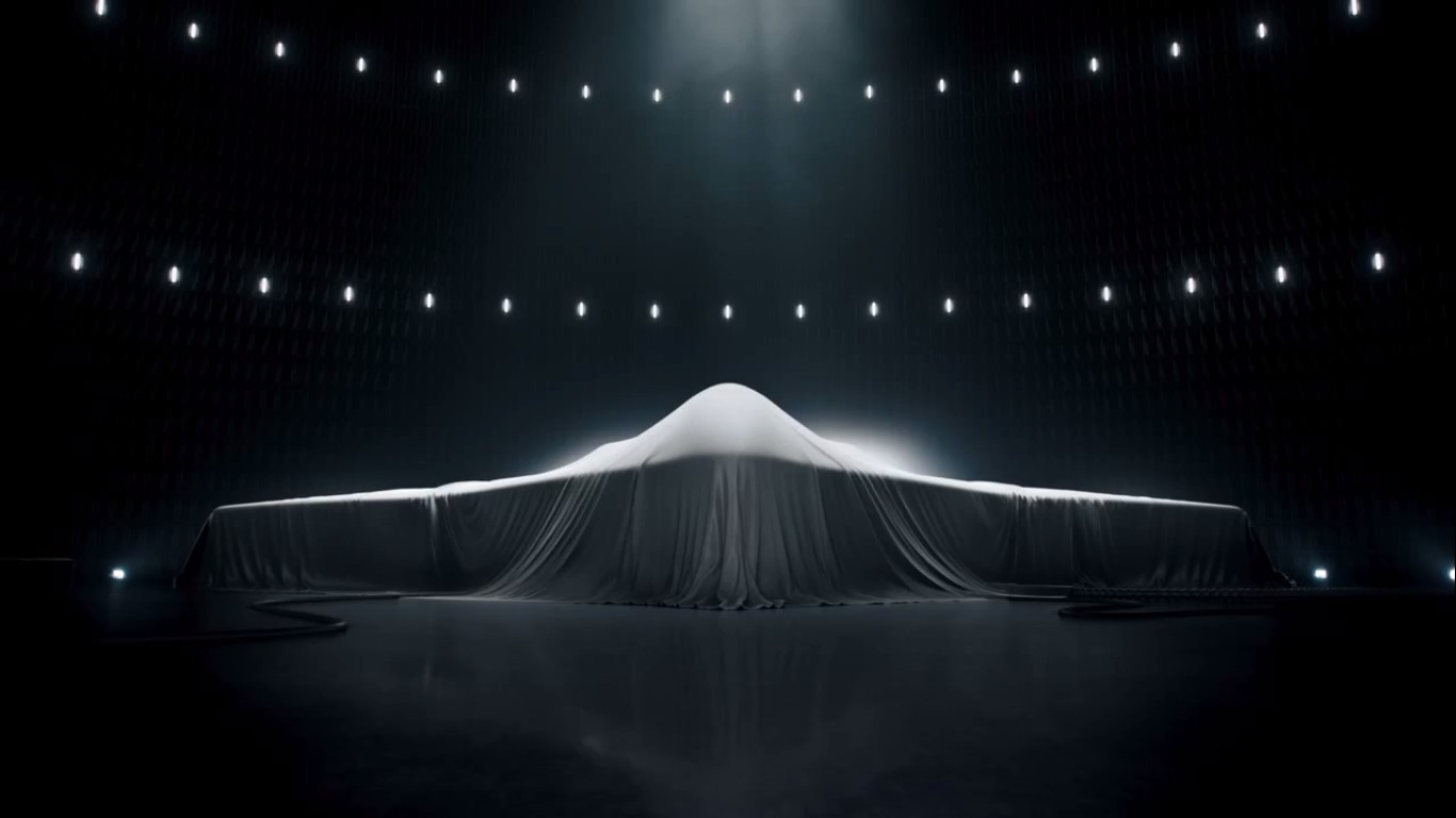 Did Northrop Grumman reveal The Next-Generation Bomber in Super Bowl Advertisement?