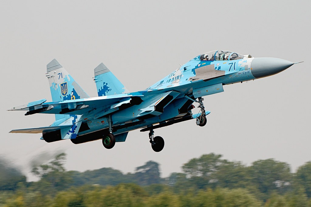 Why do all Russian 4th Generation Fighter Jets look similar?